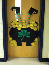 day door decorations happy st s day class door school class door