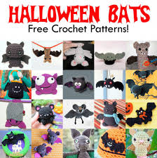 Bat For Halloween 20 Free Halloween Bat Crochet Patterns Free Crochet Bats And