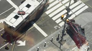 Fdny Division Map Car Strikes Pedestrians In New York U0027s Times Square Driver