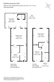 floor plan area calculator 2 bedroom property for sale in palatine avenue london n16 650 000