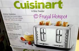 Cuisinart Toaster 4 Slice Stainless Costco Sale Cuisinart 4 Slice Toaster 39 99 Frugal Hotspot