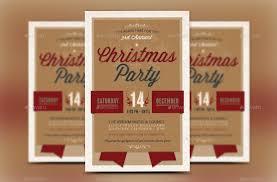 retro christmas party invitation template by godserv2 graphicriver