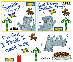 Swedish Meme - swedish things meme by aquarose525 on deviantart