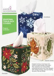 seasonal tissue box covers goodesign