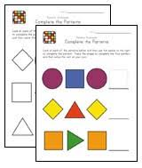 15 awesome free pattern worksheets all kids network