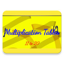 11 Multiplication Table Multiplication Tables 11 To 20 Android Apps On Google Play