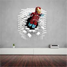 lego iron man wall sticker decal lego iron man wall sticker decal