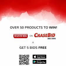 bid 2 win chasebid chasebid