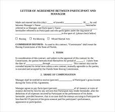 commission contract template service agreement draft doc