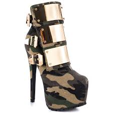 motorcycle boots shoes free shipping women motorcycle boots high heels camouflage