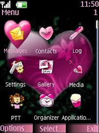 nokia 206 cute themes free nokia asha 206 alphabet p software download in love romance tag