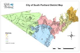 Portland Neighborhoods Map by Where To Vote Nov 4 In South Portland U2013 The Forecaster