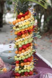 the fruit and cheese pineapple tree appetizer picture of sandbar