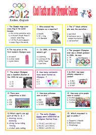 25 free esl olympic games worksheets