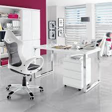 Schreibtische Weiss Holz Schreibtisch Mit Gestell Verchromt Sydney Hochglanz Weiß Lackie