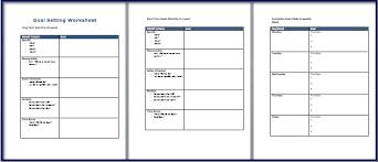 48 smart goals templates examples u0026 worksheets u2013 free