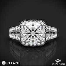 ritani engagement rings ritani masterwork split shank engagement ring 2087