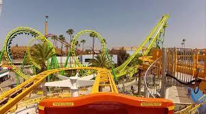coast rider roller coaster pov knotts berry farm california youtube