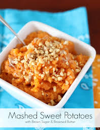 the best thanksgiving sweet potato recipe mashed sweet potatoes