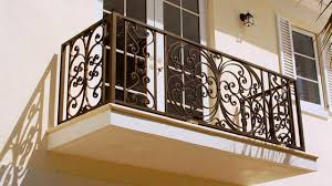 wrought iron balconies magnificent architectural house appeal