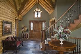 Winding Staircase Design Runner Up Best Log Home Staircase Design Town U0026 Country Cedar Homes