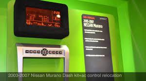 nissan murano mpg 2007 2003 2007 nissan murano radio dash kit al u0026 ed u0027s autosound los
