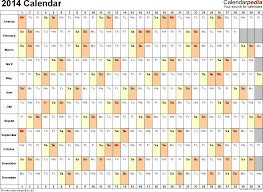 free monthly calendar template 2014 the best letter sample