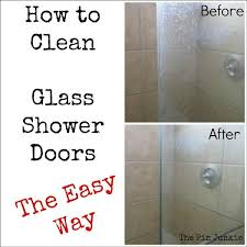 How Do I Clean Glass Shower Doors Clean Glass Shower Doors Fast And Easy Find Projects To