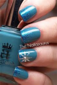9 easy way to do blue nail art designs nailed it