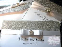 silver wedding invitations luxury wedding invitations ryanbradley co