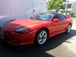 dodge stealth red dodge stealth twin turbo body kit image 183