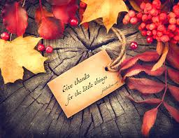 give thanks for the things grace evangelical society