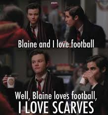 Blaine Meme - blaine is like the quinessential alpha gay awesome my stuff
