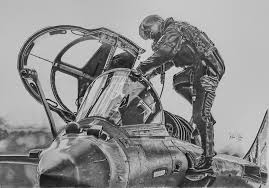 my hobby pencil drawings of aircraft aviation art airplane