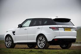 white wrapped range rover land rover range rover sport svr review 2015 parkers