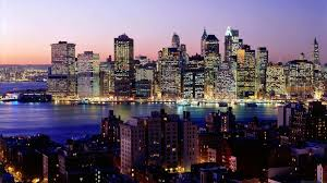 Lights Of Liberty Night Lights Of New York Broad Backgrounds Of Cities And
