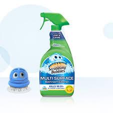 scrubbing bubbles multi surface bathroom cleaner scrubbing bubbles