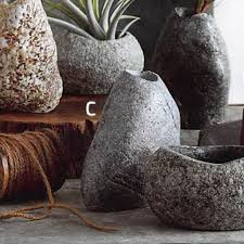 Roost Vases Rock Planter Collection Set Of 4