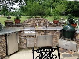 diy outdoor kitchen island big green egg outdoor kitchen design outofhome