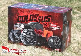 rc monster truck videos unboxing u2013 cen colossus xt monster truck big squid rc u2013 news