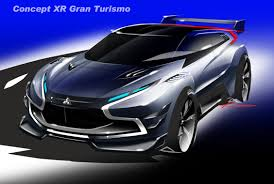mitsubishi supercar concept mitsubishi concept xr phev evolution vision gran turismo u002714