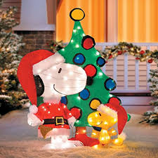 snoopy outdoor decorations a nostalgic outdoor