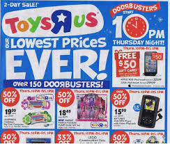 toys r us black friday ad and highlights faithful provisions