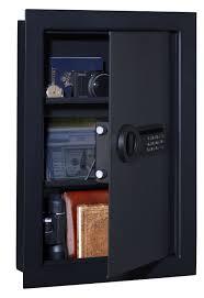 between the studs gun cabinet top 5 best in wall gun safes 2016 hidden wall safe reviews