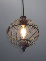 rustic pendant lighting kitchen rustic pendant lighting kitchen wire small metal globe light mini