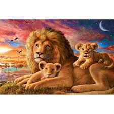 best diamond store hwb 324 diy diamond painting lion animal resin new patchwork