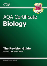 aqa certificate in biology igcse level 1 2 revision guide