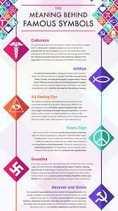 infographic the meaning symbols designtaxi com