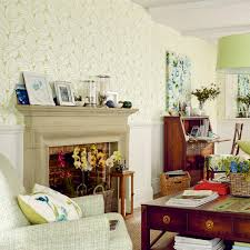 Laura Ashley Furniture by Palm Leaf Apple Green Floral Wallpaper At Laura Ashley