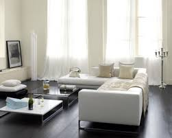 peinture canapé cuir déco salon blanc casse canapé cuir design